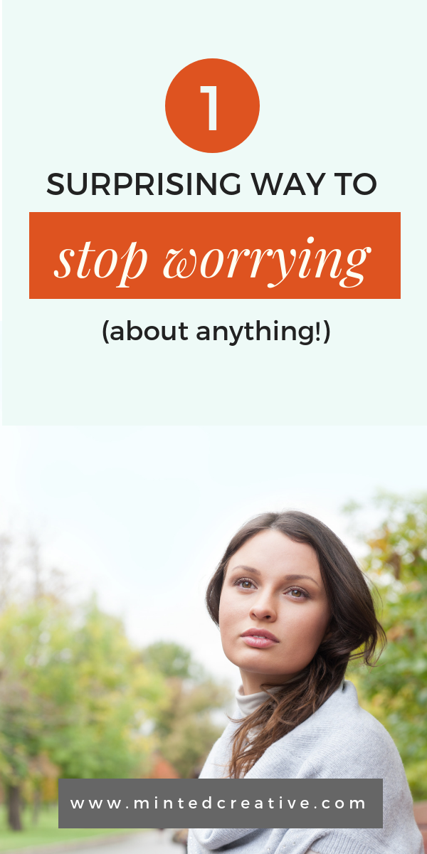 How To Not Worry: 1 Simply Key To Stop Over-thinking (about anything)