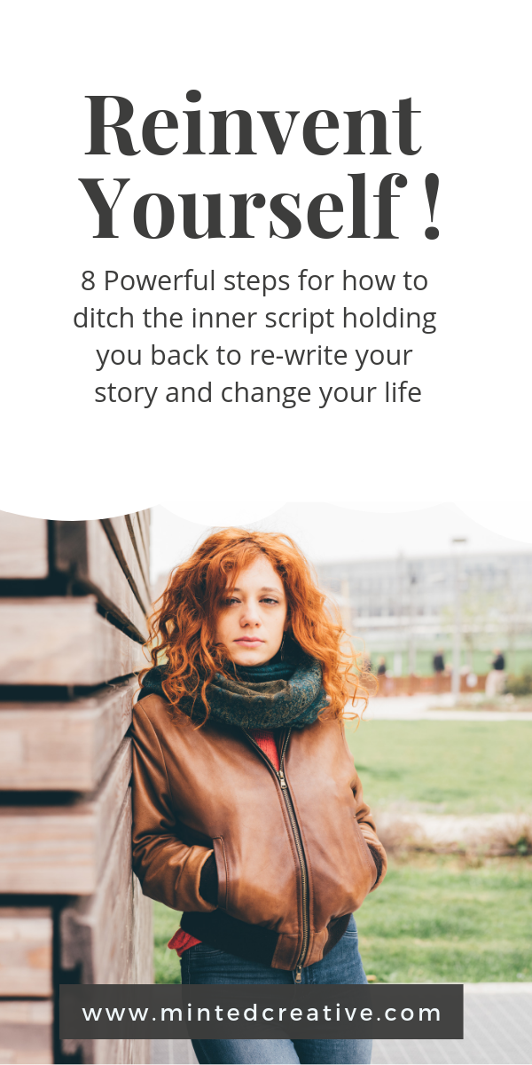 Re-invent Yourself - 8 powerful steps to for how to change your life