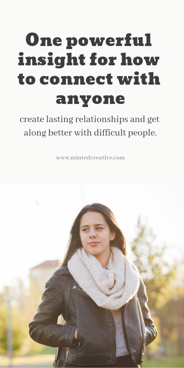 healthy relationships: one powerful insight for how to connect better with people